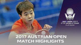 【動画】ZHANG Rui VS 前田美優 2017シマスター2017 プラチナ、オーストリアオープン 決勝