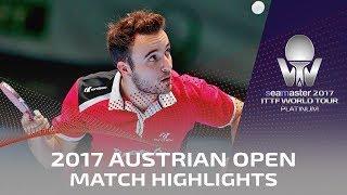 【動画】林高遠 VS ゴジ・シモン 2017シマスター2017 プラチナ、オーストリアオープン 準決勝