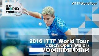 【動画】ジルバーアイゼン VS 塩見真希 2016年チェコオープン 準々決勝
