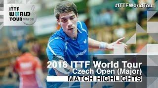 【動画】パトリック・フランチスカ VS 吉村和弘 2016年チェコオープン ベスト64