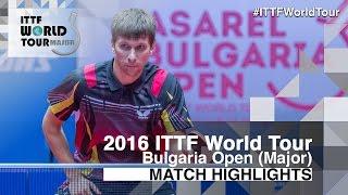 【動画】アドリアン・マテネ VS PAIKOV Mikhail 2016年-  Asarelブルガリアオープン 準々決勝