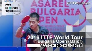 【動画】ANGLES Enzo VS リョウ・シンテイ 2016年-  Asarelブルガリアオープン 決勝