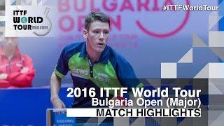 【動画】ANGLES Enzo VS アレグロ・マーティン 2016年-  Asarelブルガリアオープン ベスト16