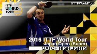 【動画】ゴジ・シモン VS マルコス・フレイタス 2016年ラオックスジャパンオープン ベスト16