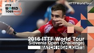 【動画】李尚洙 VS ROBINOT Quentin 2016年スロベニアオープン ベスト32