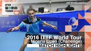 【動画】ディオゴ・チェン VS MAGDY Shady 2016年プレミアロトナイジェリアオープン 決勝