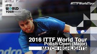【動画】バスティアン・シュテガー VS ドミトリ・オフチャロフ 2016年ポーランドオープン 準決勝
