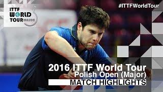 【動画】ドミトリ・オフチャロフ VS 三部航平 2016年ポーランドオープン 準々決勝