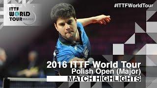 【動画】JANCARIK Lubomir VS ドミトリ・オフチャロフ 2016年ポーランドオープン ベスト16