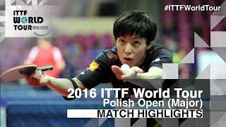 【動画】ロベルト・ガルドシュ VS 松平賢二 2016年ポーランドオープン ベスト32