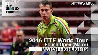 【動画】KOSIBA Daniel VS AKKUZU Can 2016年ポーランドオープン ベスト16