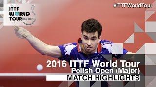 【動画】フロール VS VILCHEZ Miguel 2016年ポーランドオープン