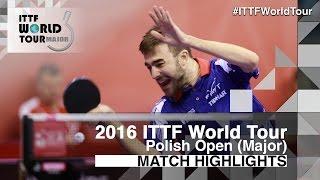 【動画】ROBINOT Quentin VS WEERASINGHE Helshan 2016年ポーランドオープン