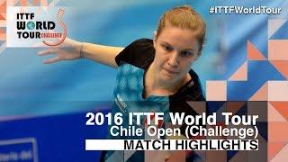 【動画】MORET Rachel VS LORENZOTTI Maria 2016年チリオープン 決勝