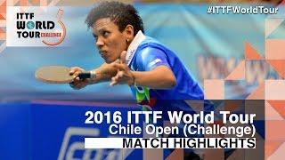 【動画】CASTILLO Lisi VS LORENZOTTI Maria 2016年チリオープン 準決勝