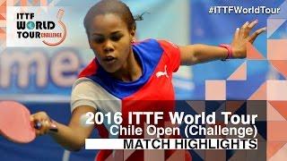 【動画】MORET Rachel VS LOVET Idalys 2016年チリオープン 準決勝