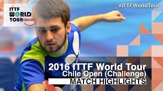 【動画】SCHREINER Florian VS LAMADRID Juan 2016年チリオープン 決勝
