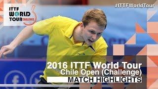 【動画】DUDA Benedikt VS LAMADRID Juan 2016年チリオープン ベスト16