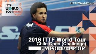 【動画】SANCHI Francisco VS PEREIRA Andy 2016年チリオープン ベスト16