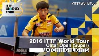 【動画】ZENG Jian VS 早田ひな 2016年カタールオープン 決勝