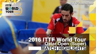 【動画】マルコス・フレイタス VS M.カールソン 2016年カタールオープン ベスト32