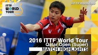 【動画】江宏傑 VS 李虎 2016年カタールオープン ベスト32