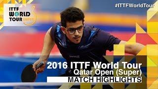 【動画】OLAH Benedek VS AL-NAGGAR Abdulrahman 2016年カタールオープン ベスト128