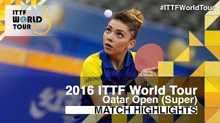 【動画】スッチ VS FARAMARZI Maha 2016年カタールオープン ベスト64