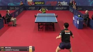 【動画】馬龍 VS 張本智和 2015年ポーランドオープンベスト64