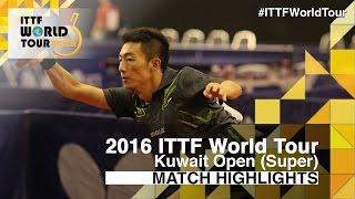 【動画】李平 VS SALEH Ahmed 2016年クウェートオープン ベスト32