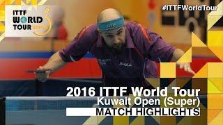 【動画】フロール VS アダム・パタンティウス 2016年クウェートオープン ベスト32