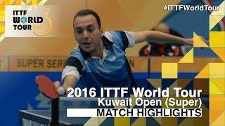 【動画】PAIKOV Mikhail VS EL-BEIALI Mohamed 2016年クウェートオープン ベスト64