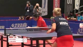 【動画】YANG Xiaoxin VS POTA Georgina 2016年スイス・オープン 決勝