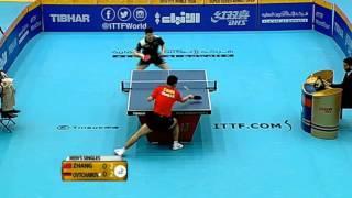 【動画】張継科 VS ドミトリ・オフチャロフ 2016年クウェートオープン準々決勝