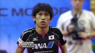 【動画】黄鎮廷 VS 吉村真晴 2015年チェコオープン決勝