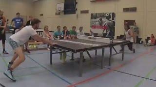 【動画あり】将来の進化した卓球?!