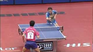 【動画】馬琳 VS 朱世赫 卓球選手権大会準々決勝