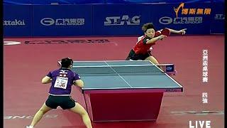 【動画】福原愛 VS 馮天薇 2015年アジアカップ準決勝