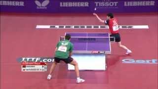 【動画】松平健太 VS ブラディミル・サムソノフ 3年世界卓球選手権ベスト16