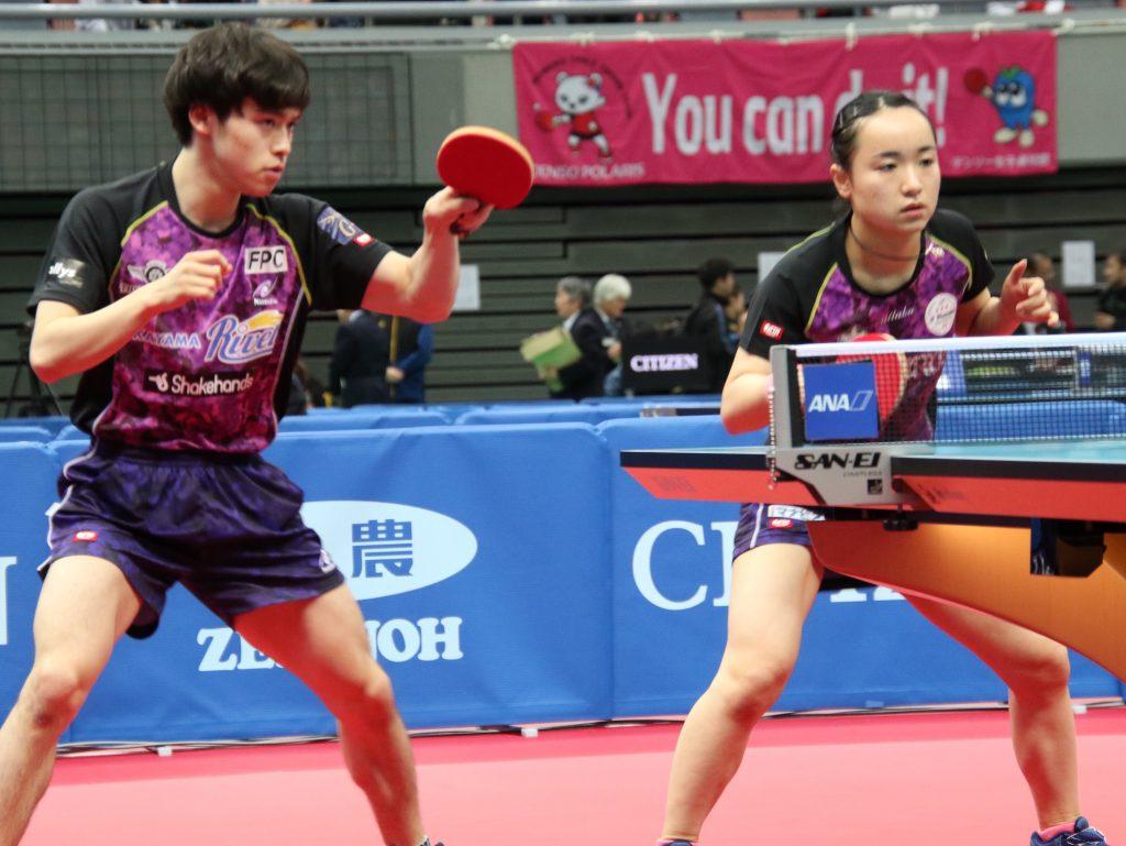 森薗/伊藤ペアや吉村/石川ペアらが3回戦へ 全日本初日結果 卓球