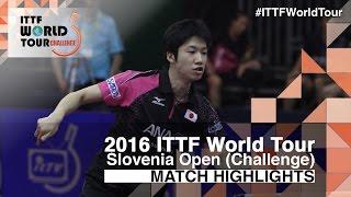 【動画】水谷隼 VS 荘智淵 2016年スロベニアオープン決勝