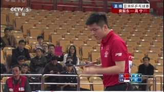 【動画】ガオニン VS 樊振東 2014年アジアカップ2014決勝