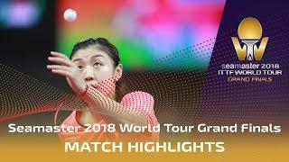 【動画】陳夢 VS CHEN Xingtong 2018ワールドツアーグランドファイナル ベスト16