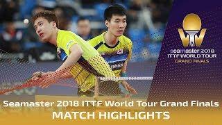 【動画】鄭栄植 VS 林兆恒・NG Pak Nam 2018ワールドツアーグランドファイナル 準々決勝