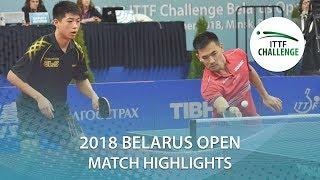 【動画】コウ・レイ・WEI Shihao VS 曽根翔・田中悠太 2018 ITTFチャレンジ ベラルーシオープン 決勝