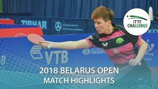 【動画】陳思羽 VS 塩見真希 2018 ITTFチャレンジ ベラルーシオープン ベスト16