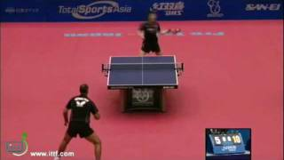 【動画】水谷隼 VS コルベル 2011ジャパンオープン -  ITTFプロツアーベスト16