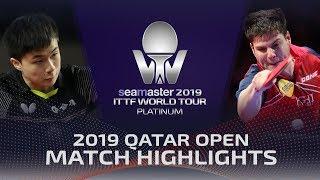 【動画】林昀儒 VS ドミトリ・オフチャロフ 2019 プラチナカタールオープン ベスト16