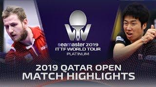 【動画】水谷隼 VS SIRUCEK Pavel 2019 プラチナカタールオープン ベスト16