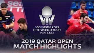 【動画】ティモ・ボル・パトリック・フランチスカ VS フロール・ルベッソン 2019 プラチナカタールオープン ベスト16